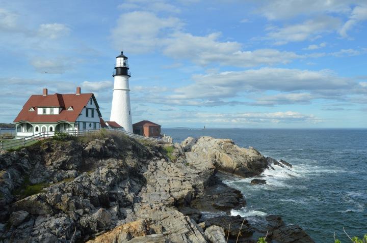 Wandering Maine: Portland Head Light & Fort WilliamsPark