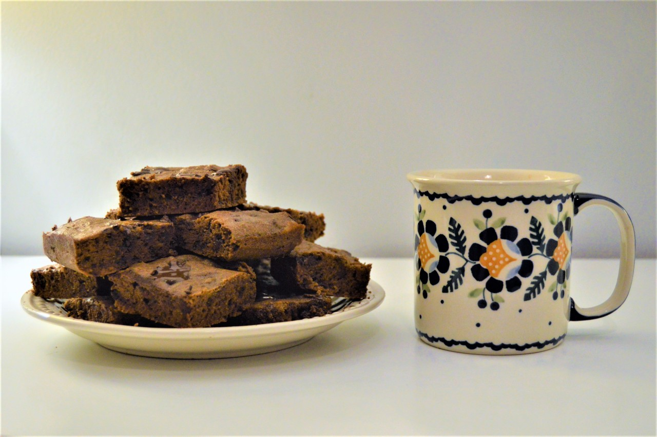 Gluten-Free Brownies With NibMor Chocolate