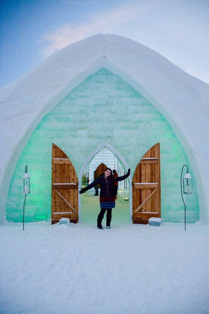 Wandering Quebec Part 2: Hotel DeGlace