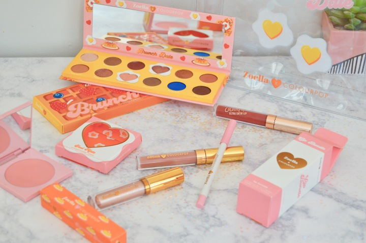 Zoella X Colourpop Brunch Date Haul & First Impressions.