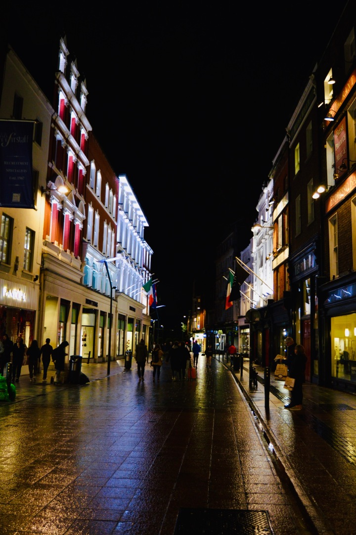 An Evening In Dublin City.