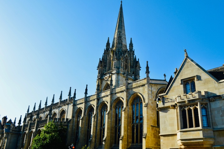 Afternoon in Oxford: A brief History.